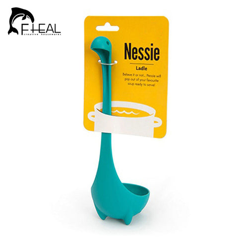FHEAL Creative Nessie Dinosaur Soup Spoon Kitchen Cooking Tools
