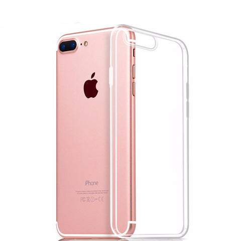 Bastec Clear TPU Phone Case for iPhone