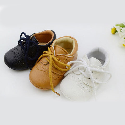 Genius Anti-slip First Walker Leather Shoes for Baby