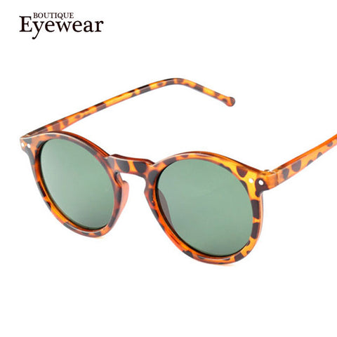 BOUTIQUE Eyewear Fashion Round Multi-color Sunglasses
