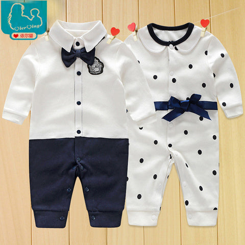 Long Sleeve Rompers Clothing Set for Baby