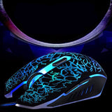 MOSUNX Wired Gaming Optical Computer Mouse