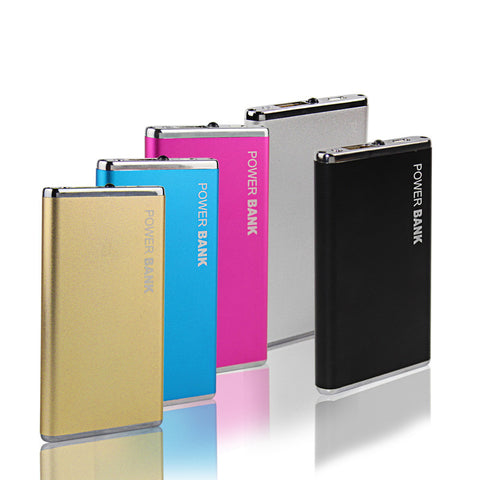 DCAE 5600mAh Portable Metal Case Power Bank for phone