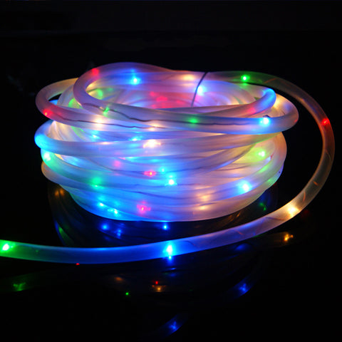 ZINUO Solar LED String Lights Christmas Decor For Garden fence