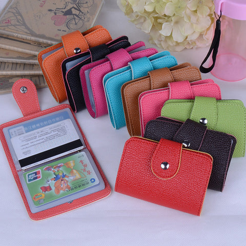 Baellerry PU Leather Fashion Card Holder