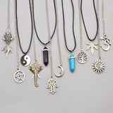 SHIJIEZHUYI women's assorted design necklaces