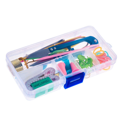 DIY Knitting Tools Set & Accessories with Case Box