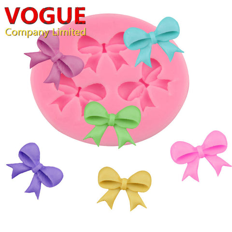 Bow Knot Design Silicone Mold for Cake Decor