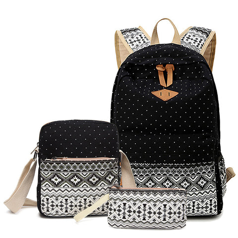 Abshoo Teenage Printed School Bags Set