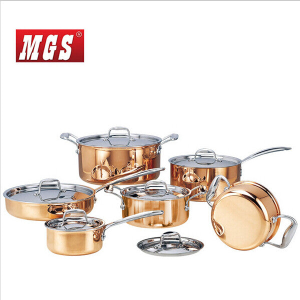Stainless Pot And Pans Cookware Set