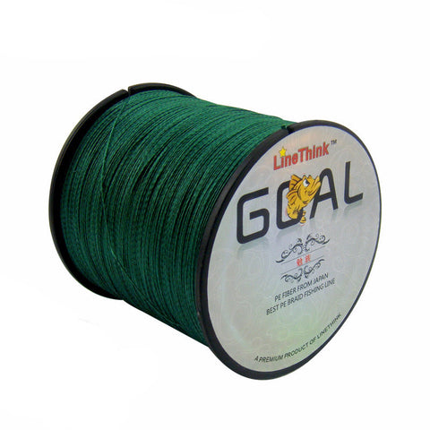 500M Brand LineThink GOAL Japan Multifilament Braided Fishing Line