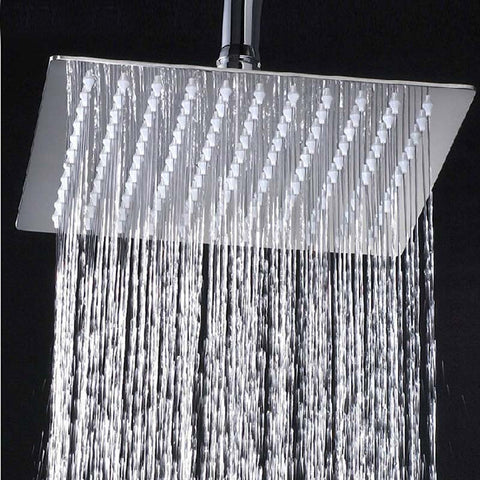 "8"" Chrome Brass Bathroom Shower"