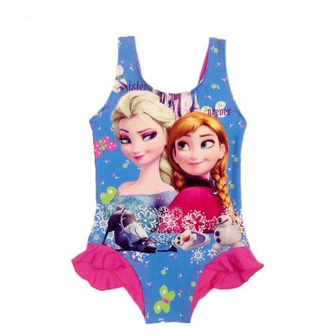 ACTIONCLUB Baby Girls Character One piece Bathing Suit