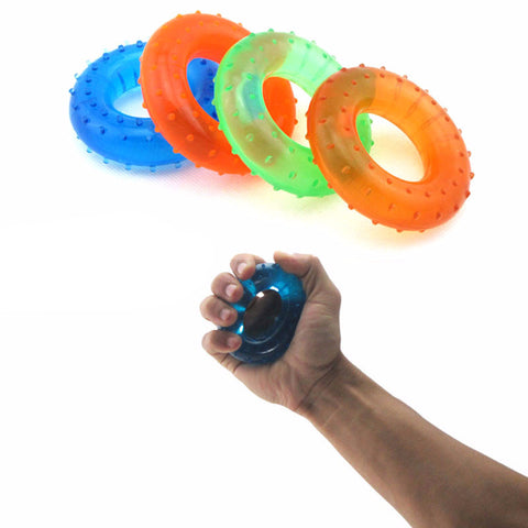 Hand Grip Muscle Power Training Rubber Ring Exerciser