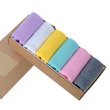 5 Pairs Summer Winter Solid Color Women's Socks