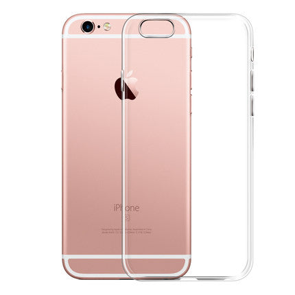 Crystal Clear Silicon Back Cover Phone For IPhone