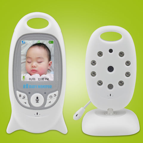 Baby Monitor Security Camera w/ 8 Lullaby