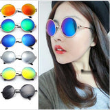 Xinfeite Vintage Round lens Sunglasses for Women