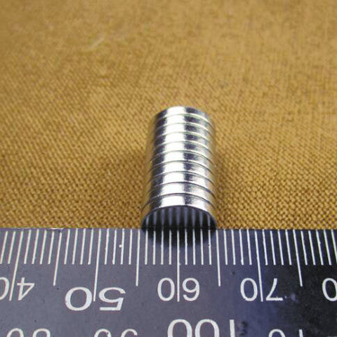 10*2mm Super Strong Rare Earth Block NdFeB Magnet