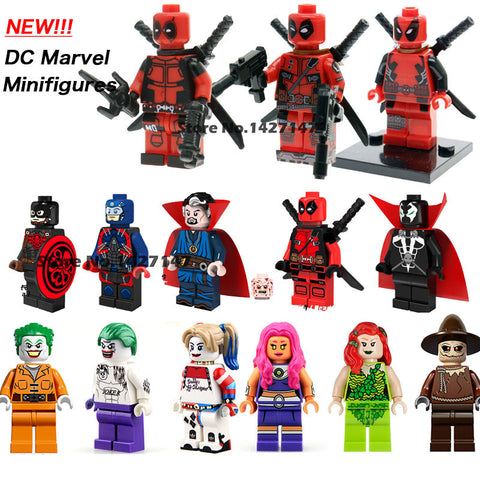 Marvel Avengers Super Heroes Mini-Figures Collection Children Gift toys