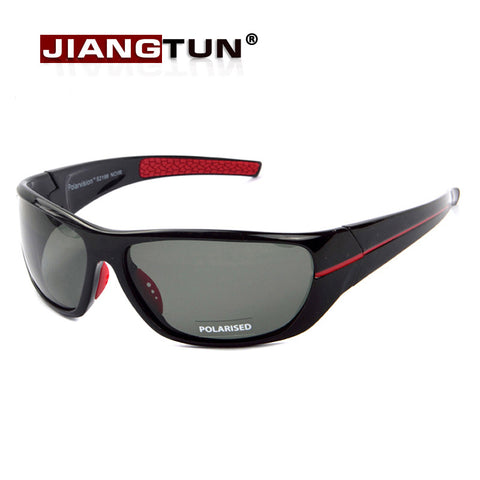 JIANGTUN  Polarized Sports Sunglasses for Men