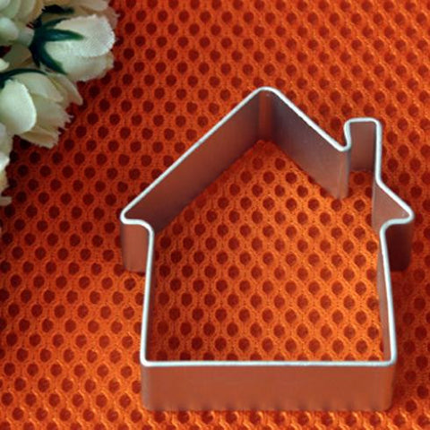 House-shaped Aluminum Mold Cake Decorating Tool