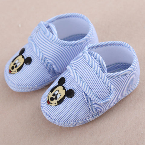 Cartoon Design Anti-slip First Walker Shoes for Baby