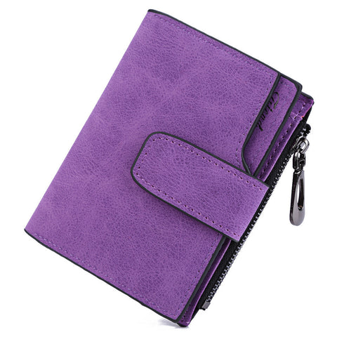 BAELLERRY Vintage Matte Women's Wallet