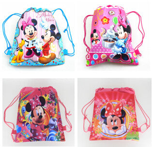 AIBKHK Kids cartoon drawstring bags