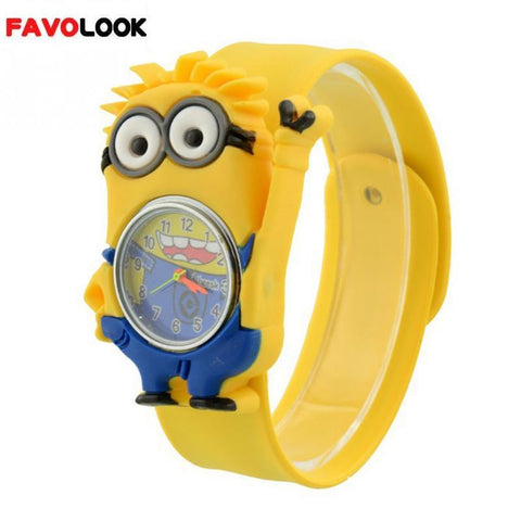 3D Cartoon Wrist Watches for Kids