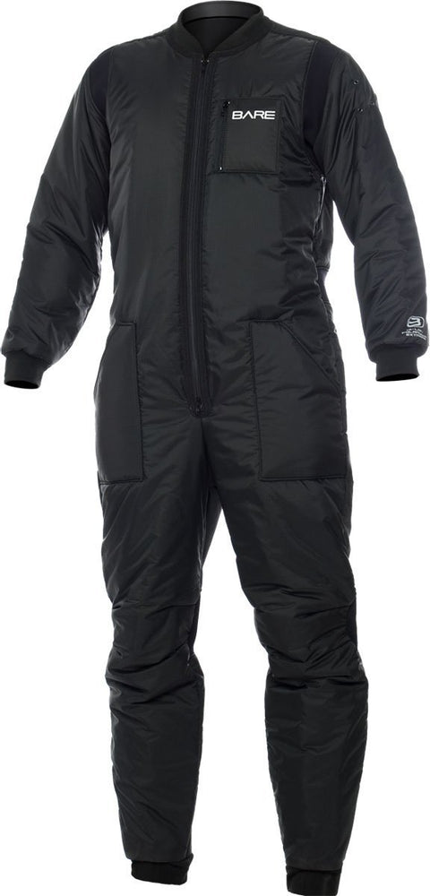 Bare Super Hi-Loft Polarwear Extreme Undergarnment / Black / Black / Large - Dive Toy