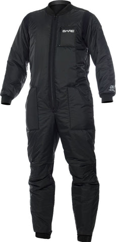 Bare Super Hi-Loft Polarwear Extreme Undergarnment / Black / Black / Large