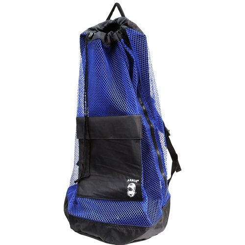 Armor Mesh Backpack  Bags / Blue - Dive Toy