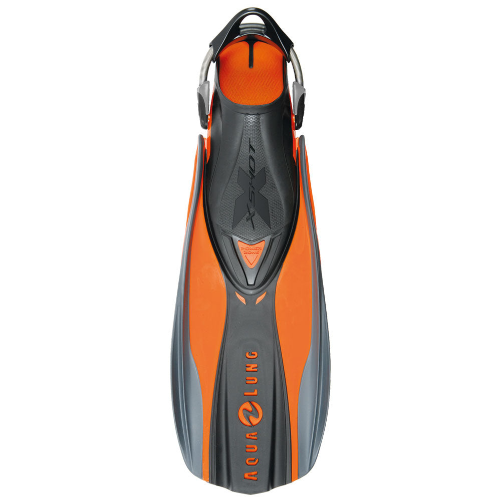 Aqua Lung X Shot Fins / Orange / Black / S - Dive Toy