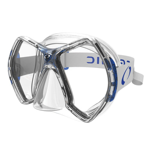 Oceanic Cyanea Mask / Blue / Clear