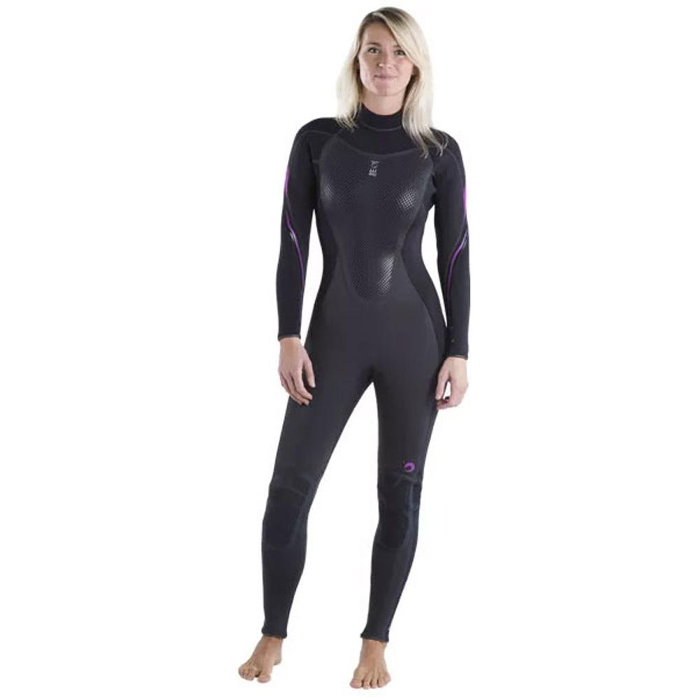 Fourth Element Xenos Womens 3mm Wetsuit / Fuchsia/ Black / 10