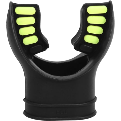 Innovative Comfort Cushion Mouthpiece Regulator Accessory / Yellow / Black