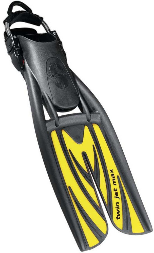 ScubaPro Twin Jet Max  Fins / Yellow / L