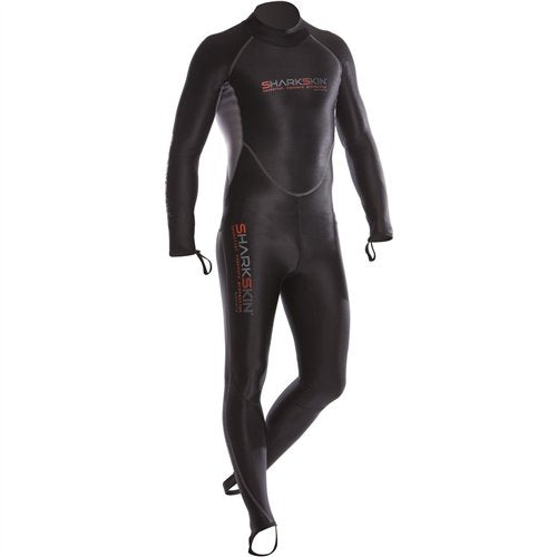 Sharkskin Chillproof Wet Suits Mens / Black / Silver / S
