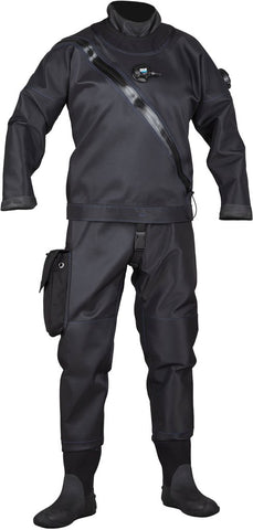 DUI Yukon Dry Suit Drysuit / Black / XL