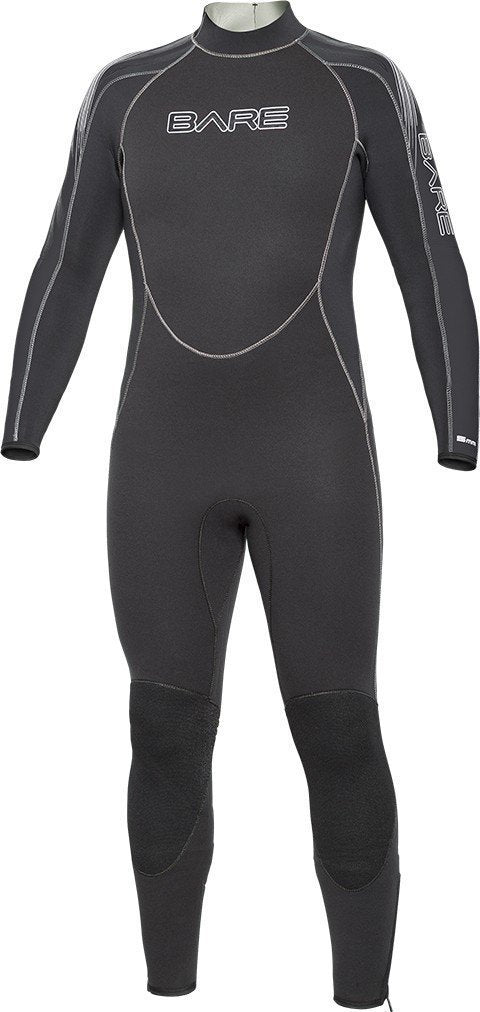 Bare 3mm Velocity Wet Suits Mens / Black / XL - Dive Toy
