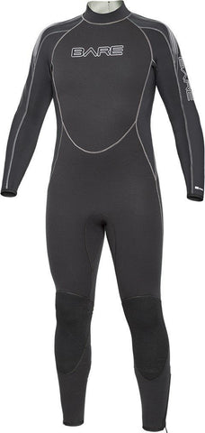 Bare 3mm Velocity Wet Suits Mens / Black / XL