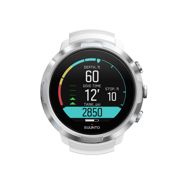 Suunto D5 White with USB Cable Computer / White / Black