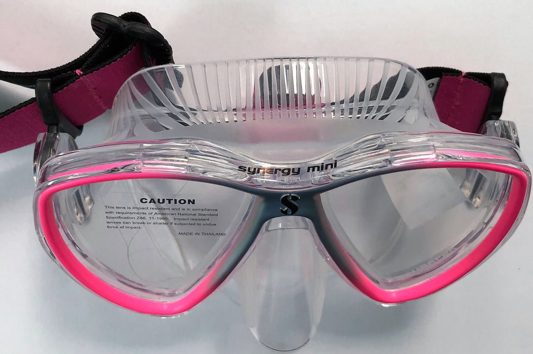 Scubapro Synergy Mini Mask / Pink / Silver