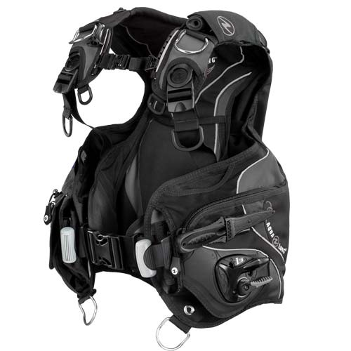 Aqua Lung Soul i3 BCD / Charcoal / Black / ML - Dive Toy