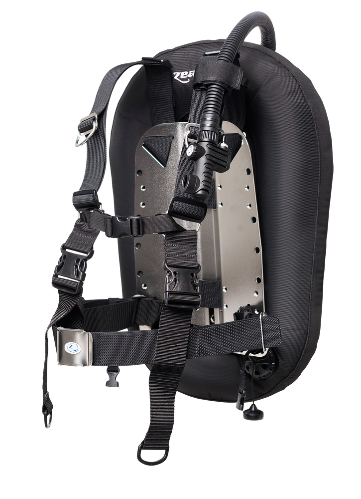 Zeagle Backplate Combo Pack BCD / Black / Silver