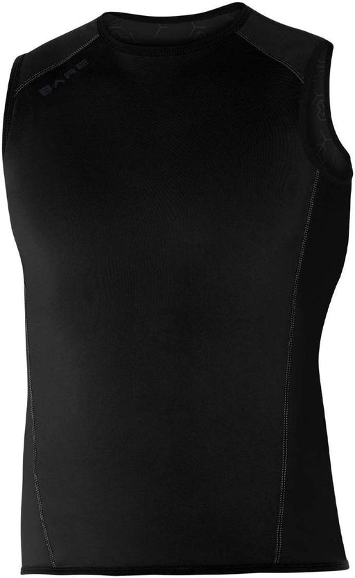 Bare EXOWEAR Vest Unisex Undergarnment / Black / Large
