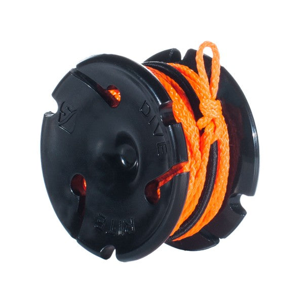 Dive Rite Cookie Spool 30' Line Reel / Orange / Black / 30' - Dive Toy
