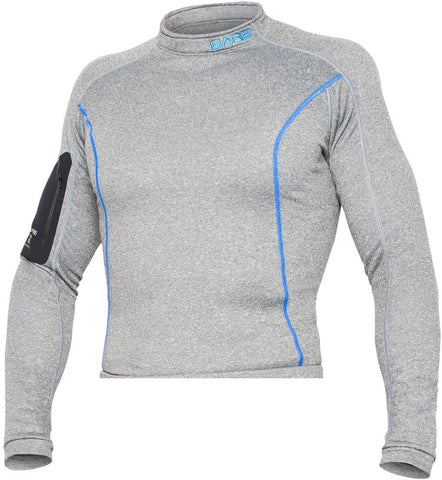 Bare SB System Base Layer Top Undergarment / Gray / Blue / ML/MG