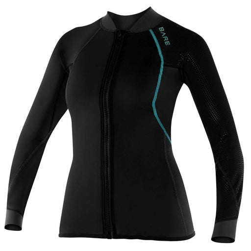 Bare EXOWEAR Jacket Womens  Undergarnment / Black / 10